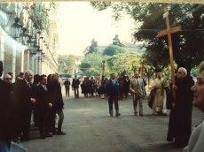 """1980 Κυριακή του Πάσχα Περιφορά Ανάστασης και οι """"Ταμένοι"""""""